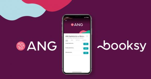 Booksy rozpoczyna współpracę z ANG Spółdzielnią BIZNES, Finanse - Do grona instytucji finansowych, obecnych w ofercie Booksy, dołącza ANG Spółdzielnia – organizacja pośrednictwa finansowego i ubezpieczeniowego z oddziałami na terenie całej Polski.